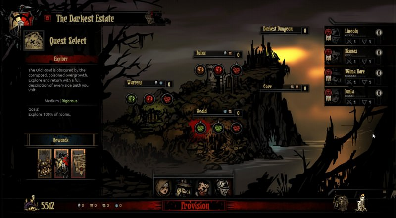 Darkest-Dungeon-Carte
